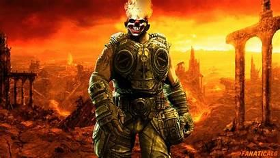 Gears War Twisted Metal Tooth Sweet Santiago