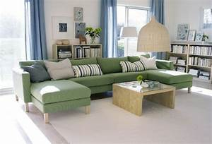 Canapé Vert Ikea : comment choisir le mobilier de salon id es et astuces ~ Teatrodelosmanantiales.com Idées de Décoration
