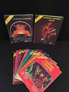 Dungeons  U0026 Dragons Players Handbook  Masters Guide  Basic