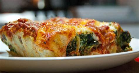 cuisine italienne cannelloni cannelloni ricotta et épinards la cuisine italienne