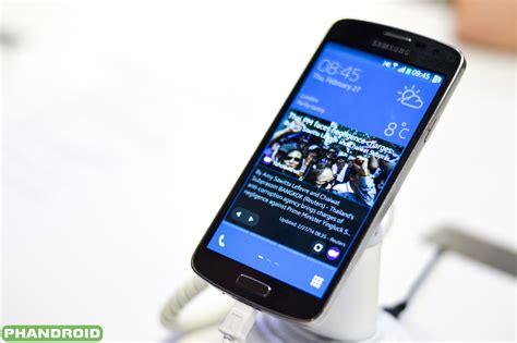 on samsung tizen prototype smartphone