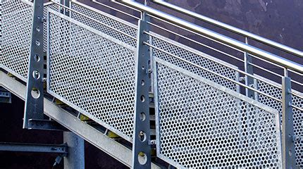 contact cleaner perforated metal infill panels perforated metal railing