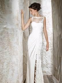 simple lace wedding dress simple wedding dress sangmaestro