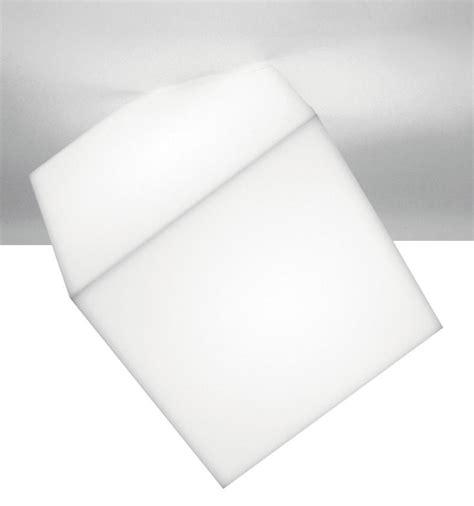edge wall light ceiling light white side 21 5 cm by artemide made in design uk