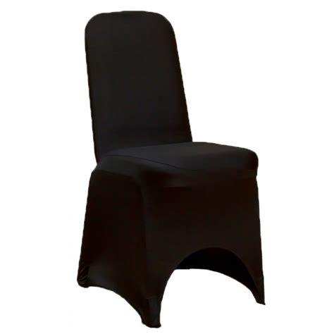 housse de chaise noir housse de chaise mariage en lycra noir housse de chaise