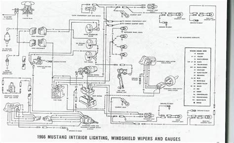 66 Mustang Wiring Diagram by The Care And Feeding Of Ponies 1966 Mustang Wiring Diagrams