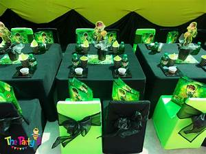 Ben10 themed party cape town - The Party B Kids party