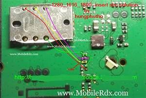 Nokia 1280  1616  1800 New Insert Sim Solution