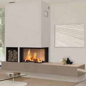 Cheminée Bois Design : cheminee moderne brisach modele de chemin es modernes ~ Premium-room.com Idées de Décoration