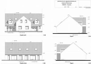 plans et permis de construire un exemple n2 de permis de With exemple plan de maison 0 plans et permis de construire un exemple de permis de