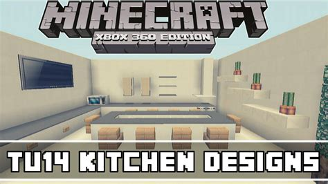 Minecraft Kitchen Ideas Xbox by Minecraft Xbox 360 Tu14 Kitchen Designs