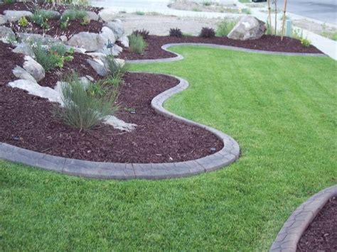 decorative curb and concrete curb appeal lawn care landscaping decorative concrete