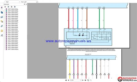 Toyota Rav Wiring Diagrams Auto Repair Manual