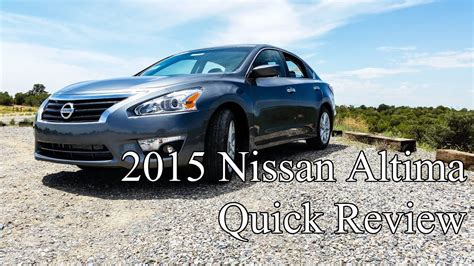 Nissan Farmington by 2015 Nissan Altima Sv 2 5 Review And Test Drive Horace