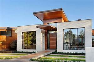 Simple small modern homes exterior designs ideas.