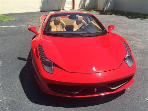 Ferrari 458 Italia Spider Rental in Los Angeles and