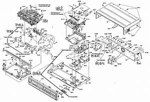 Cabinet Assy Diagram  U0026 Parts List For Model Zv457mg9