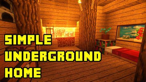 minecraft simple underground housebase tutorial xboxpc