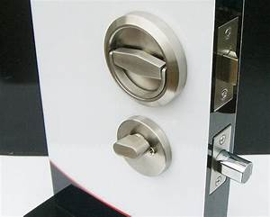 Door Locks Stainless Steel 304 Recessed Cup Handle Privacy