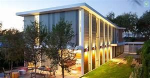 Futuristic, High, Tech, Home, Landscape