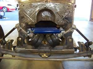 Rat Rod Front Air Bag Suspension