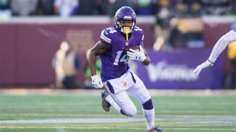 Minnesota vikings wide receiver stefon diggs runs with the ball during an nfl game between the minnesota vikings. Stefon Diggs Wallpapers - Wallpaper Cave