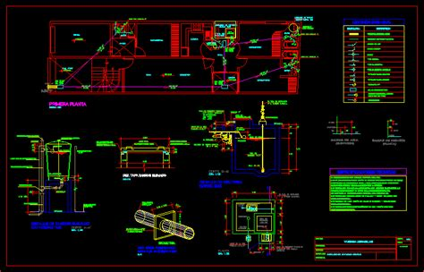 drains plan family dwg plan  autocad designs cad
