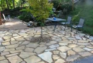 rock patio ideas savvy housekeeping 187 different types of