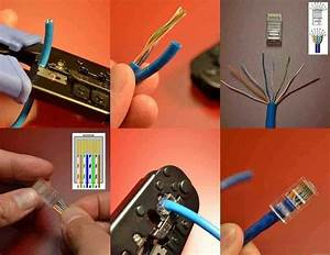 Como Hacer Un Conector Rj45 De La Manera M U00e1s F U00e1cil
