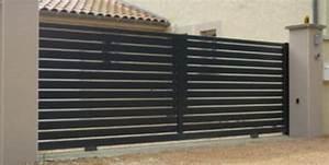 Portail 3 50m : portail alu battant 3 50m pour votre s curit ~ Premium-room.com Idées de Décoration