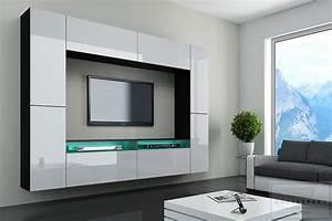 Tv Wand Modern : wohnzimmergestaltung modern ~ Sanjose-hotels-ca.com Haus und Dekorationen
