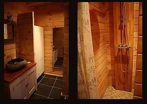 Colonne De Douche Bois : d coration d une salle de bains eyre d co ~ Dailycaller-alerts.com Idées de Décoration