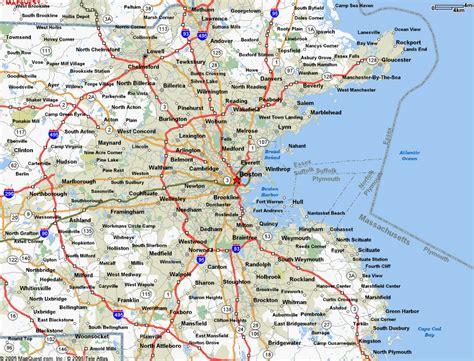 map  boston ma