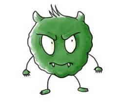 Bacteria Cartoon