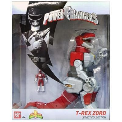 Mighty Morphin Power Rangers Legacy Deluxe T-Rex Zord with ...