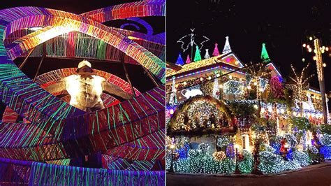 christmas lights  sounds show  manila