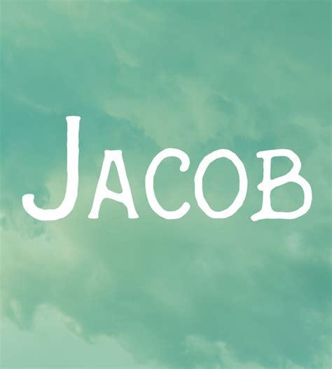 jacob baby names  parents   hadnt