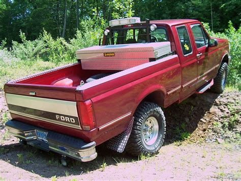 1995 Ford F150 Bed Size
