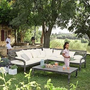 Salon Jardin Maison Du Monde : mobilier d co de jardin campagne maisons du monde ~ Melissatoandfro.com Idées de Décoration