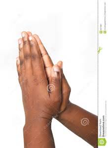 African American Praying Hands