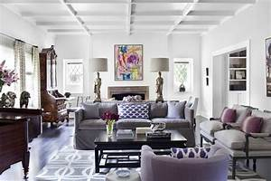 color scheme purple and grey eclectic living home With grey and purple living room