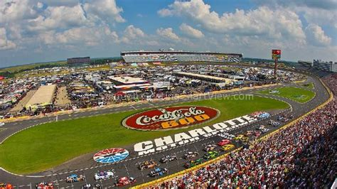 Charlotte Motor Speedway, Concord Nc  Seating Chart View