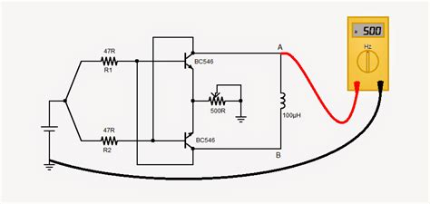 simple 1 5 v inductance meter circuit circuit projects