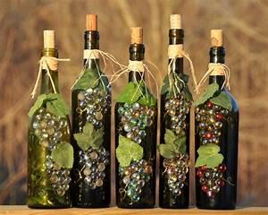 Decoracion con botellas - reciclar puede ser divertido