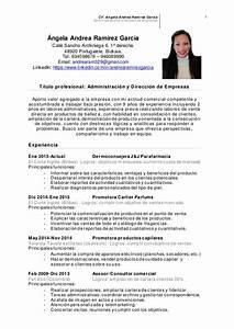 Ejemplos De Curriculum Vitae De Una Administrativa Andrearamirezcv Administrativa