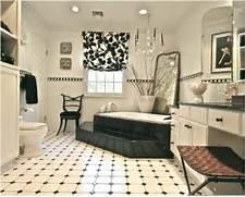Bathrooms With Black And White Tile by Black And White Tile Bathroom Floors Magazine Online Bathroom Floor Tiles A