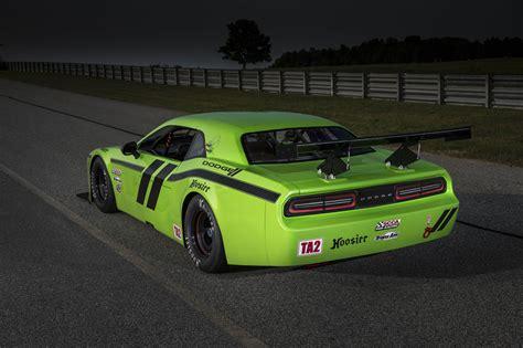 2018 Dodge Challenger Srt Trans Am Race Car Rear Photo