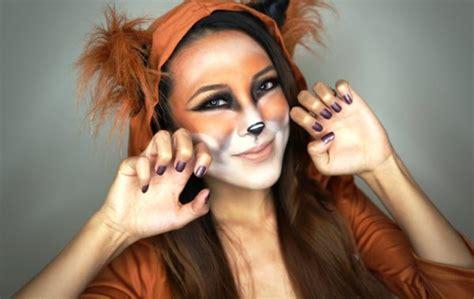 halloween transformation cute fox makeup ideas