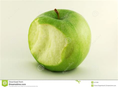 Apple Bite stock photo. Image of bite, apple, snack ...