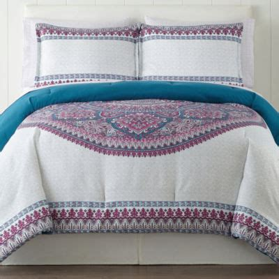 home expressions complete bedding with sheets jcpenney